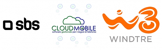 cloudmobile, w3, wind3, sbs, angelia, software gestionale wind3, gestionale negozi telefonia wind h3g, software wind3, gestionale w3